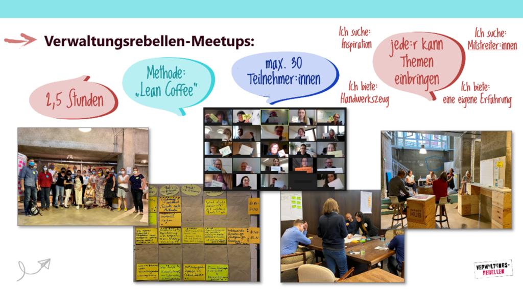 Eckpunkte und Eindrücke der Verwaltungsrebellen-Meetups